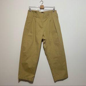 NWT Zara Women Beige Trousers Size Large